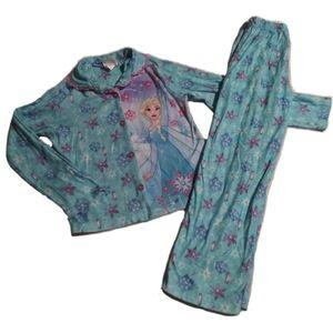 Disney Frozen Elsa pajamas size 7/8 long sleeves